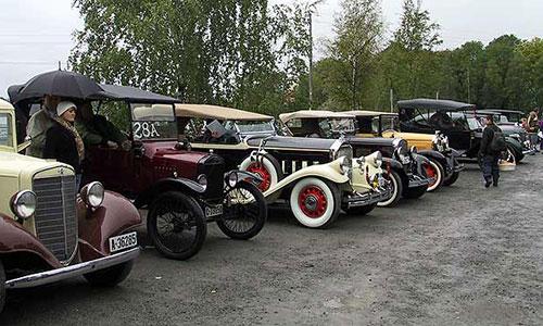 Veteranbilløpet 1954 – 50 år etter!