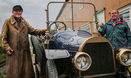 En 1913 Opel på gamle trakter